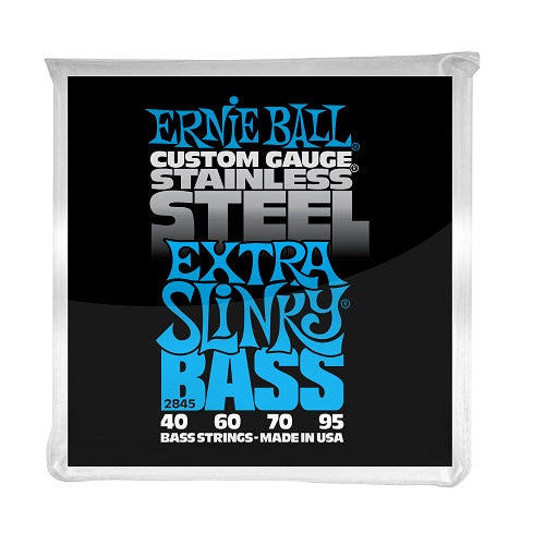 Ernie Ball Extra Slinky Stainless Steel 40-95 Electric Bass Strings