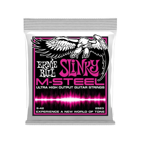 Ernie Ball Super Slinky M-Steel 9-42 Electric Guitar Strings
