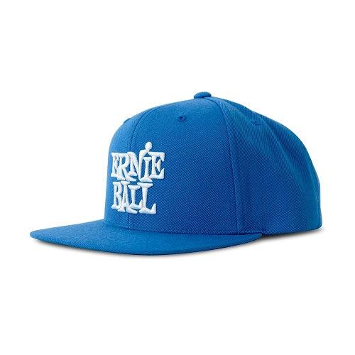 Ernie Ball Blue with White Stacked Ernie Ball Logo Hat