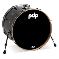 DW PDP Concept Maple 5-pc Drum Kit with Hardware - Ebony Stain