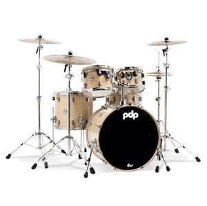 DW PDP Concept Maple 5-pc Drum Kit with Hardware - Natural