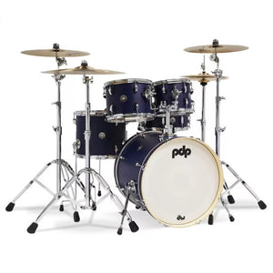 "DW PDP Spectrum 5-pc Drum Kit 20"" Kick with Hardware - Ultra Violet Stain"
