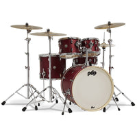 DW PDP Spectrum 5-pc Drum Kit with Hardware - Cherry Stain