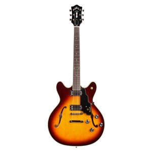 Guild Starfire IV ST Maple Semi-Hollow Electric Guitar - Vintage Sunburst