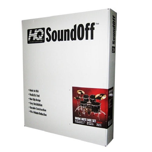 Evans HQ SoundOff Fusion Box Set