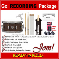 ** Limited Time Offer ** Go Recording Snare Drum Pack