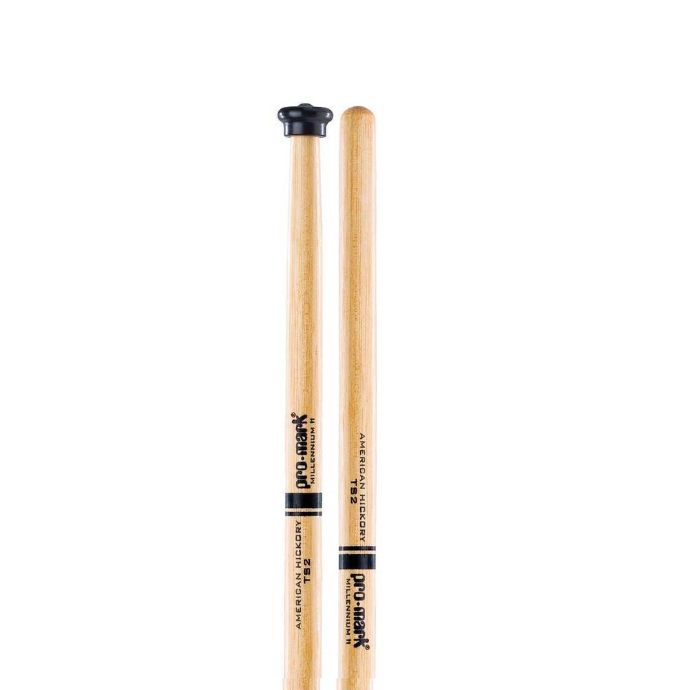 Promark TS2 Tenor Drumstick, Nylon Cookie Tip