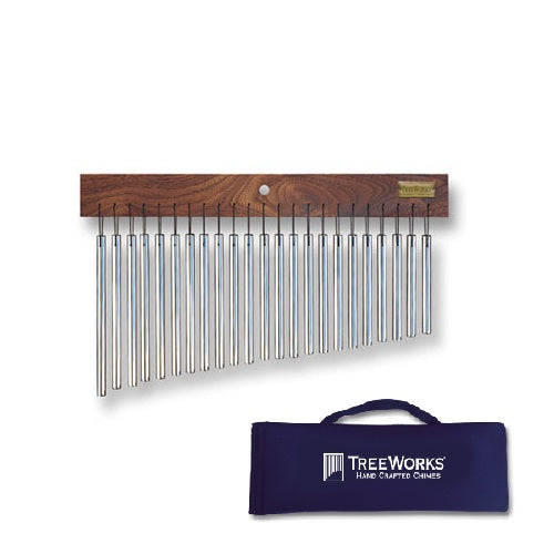 Treeworks Tre23 Classic Single-Row 23-Bar Chime with Soft Case
