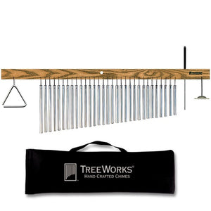 VIDEO and Finger Cymbal TreeWorks Chimes TRE416 Made in USA Large ...