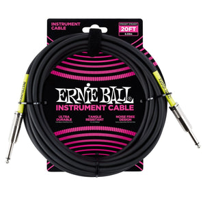 Ernie Ball 20ft Instrument Cable