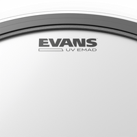 "Evans UV EMAD Coated 22"" Bass Drumhead"