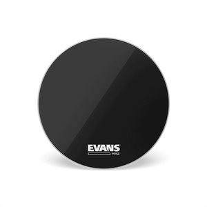 "Evans MX2B 22"" Marching Bass Drumhead, Black"