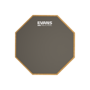 "Evans RealFeel 6"" 1-Sided Mountable Practice Pad"