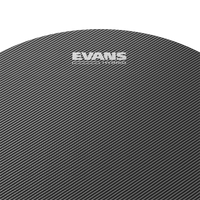 "Evans Hybrid 13"" Marching Snare Drumhead, Grey"