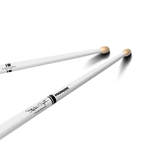 Promark Pipe Band Drumstick, White - Stephen Creighton Signature