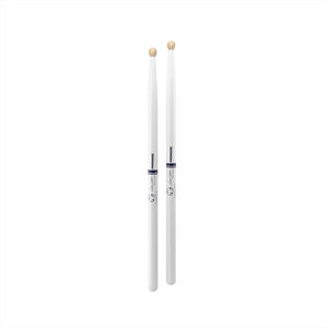 Promark System Blue DC17 Marching Drumstick, White - Scott Johnson Signature