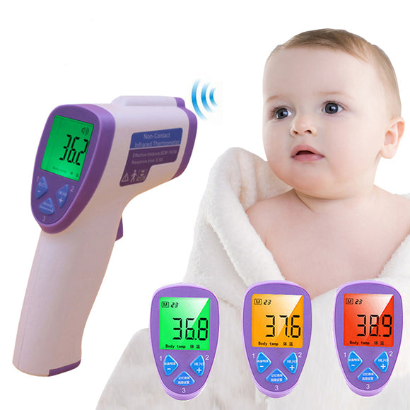 Baby Infrared Thermometer Health Safety Care Lcd Digital