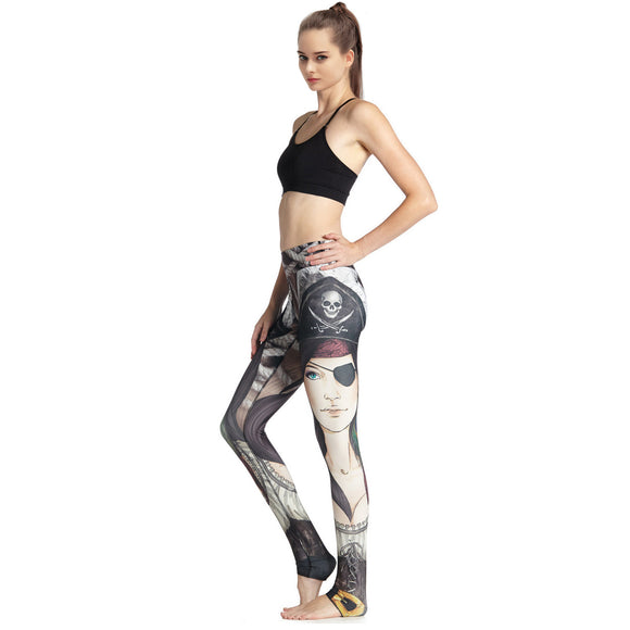 femal gym fitness tight pants yoga leggings