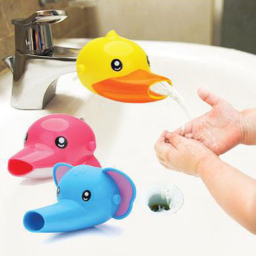 Baby Kids Fun Animals Faucet Extender Sink