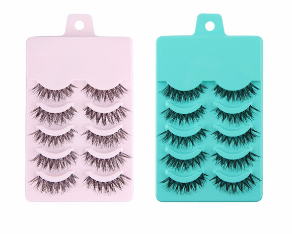 5 Pairs False Eyelashes Eye Lashes