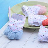 1pcs Baby  Silicone Glove Teether