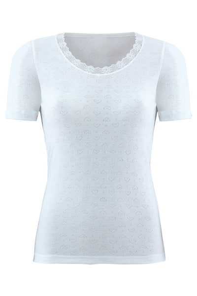 blackspade-Ladies' thermal jacquard t-shirt-1267, level-1-underwear-white