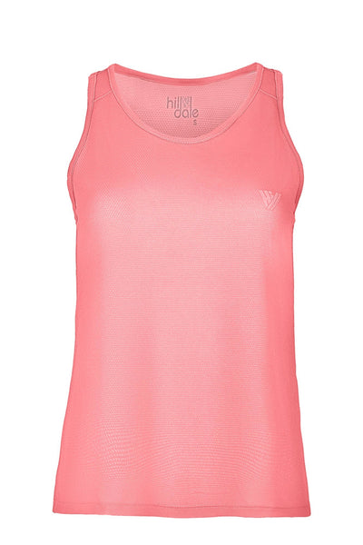 hill & dale run singlet top hill & dale pink XS 100% Polyester