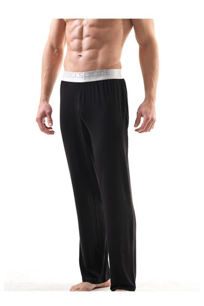 Mens' PJ Bottom bottoms blackspade Black L 94% Modal 6% Elastane
