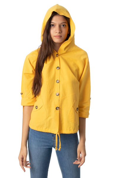chassca shirt jacket with hood - Breakmood