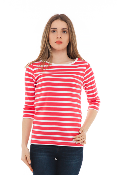 chassca basic crew-neck stripe t-shirt - Breakmood