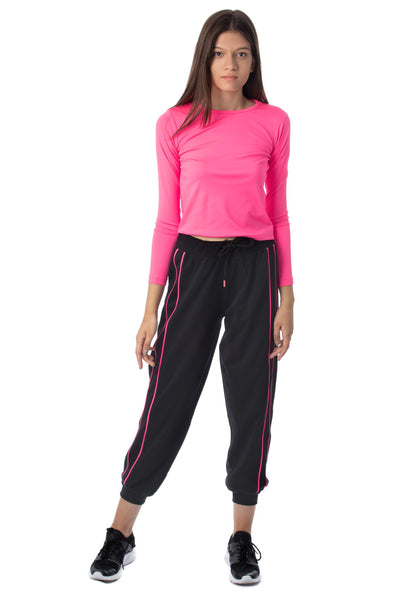 chassca neon long sleeeve  t-shirt & jogger set - Breakmood