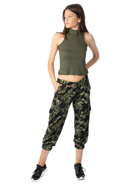 chassca  Camouflage printed cargo pant - Breakmood