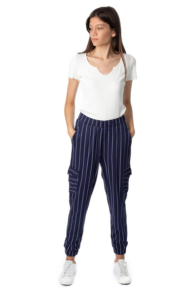 chassca stripe cargo pant - Breakmood