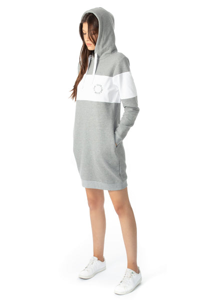 chassca hoody sweat dress - Breakmood