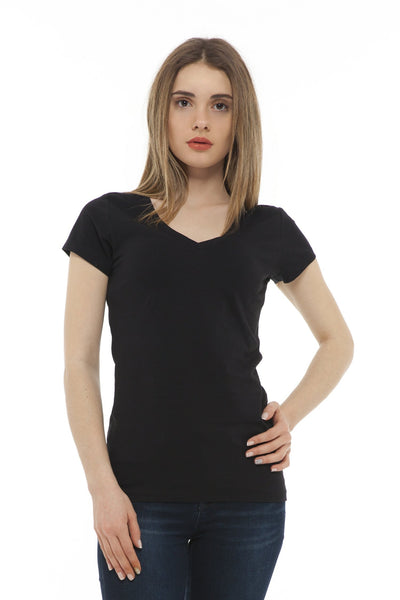 chassca basic V-neck slim-fit t-shirt - Breakmood