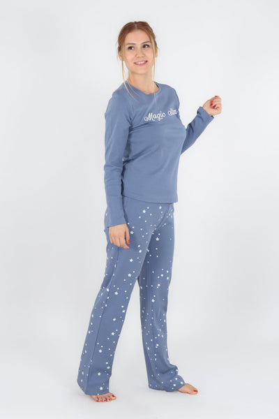 chassca long sleeve tee & pant pyjama set - Breakmood