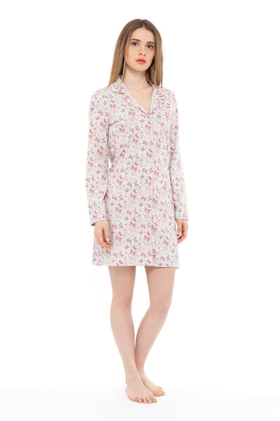 chassca nightdress with butterfly print - Breakmood