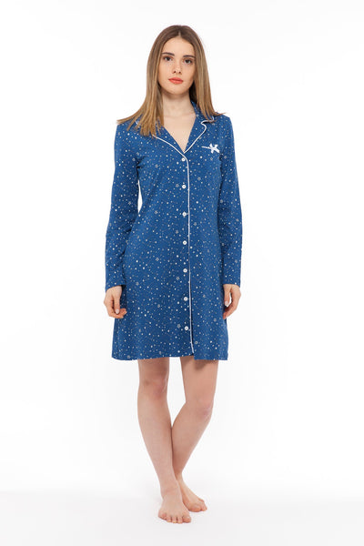 chassca nightdress with galaxy print - Breakmood