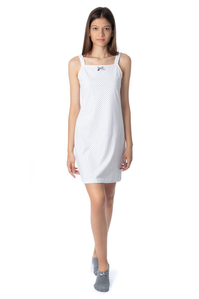 chassca nightdress with spot print - Breakmood