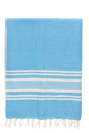 chassca  sultan soft blue stripe peshtemal turkish towels breakmood-2.myshopify.com