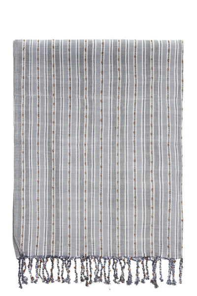 grey stripe peshtemal turkish towels chassca