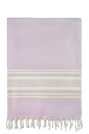 chassca  sultan soft pink stripe peshtemal turkish towels breakmood-2.myshopify.com