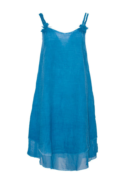 relax turquoise cami shift dress dress ipekci