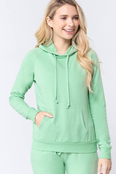 French Terry Pullover Hoodie - Tokhore