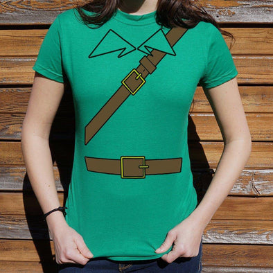 A Tunic For Heroes T-Shirt (Ladies) - Tokhore