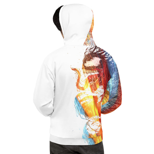 Abstract 3d hoodie for man and women