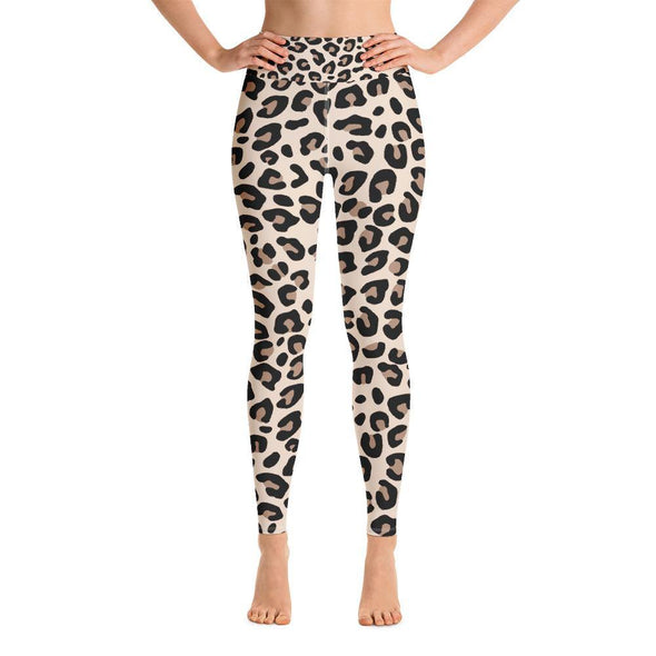 Leopard Print sports bra Yoga Leggings - Tokhore