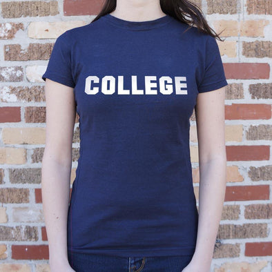 College T-Shirt (Ladies) - Tokhore