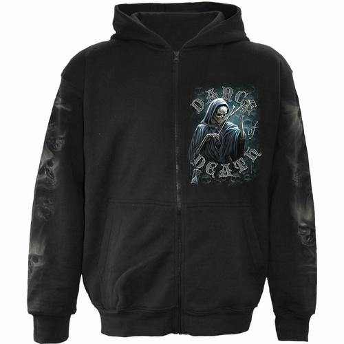 DANCE OF DEATH - Full Zip Hoody Black - Tokhore