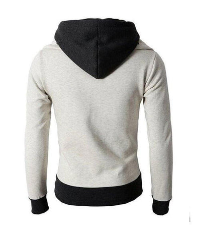 Mens High Collar Windproof Hoodie - Tokhore